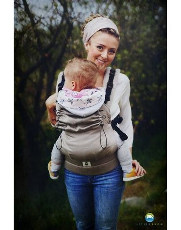 Little Frog Ergonomic Carrier - Basic SLATE