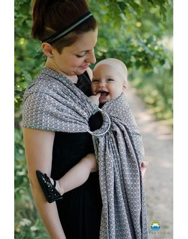 Ring Sling Little Frog - LOVELY SLATE - M