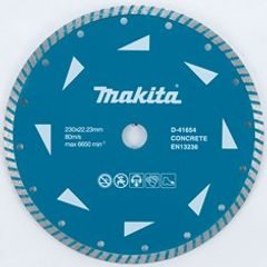 Makita D-41654-10 - turbo diamantový kotouč 230x22,23mm 10ks
