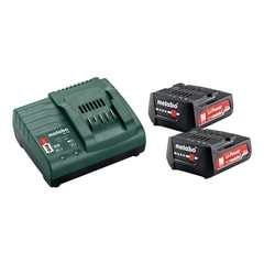 Metabo Basic-Set 12V 2 x 2,0 Ah