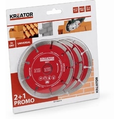Kreator KRT082010 Diamantový kotouč 115mm DRY 2 plus 1