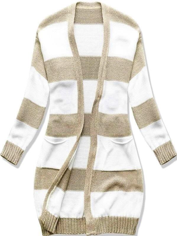 premium selection 1c8bf 58112 Langer Damen Pullover SPZN Beige