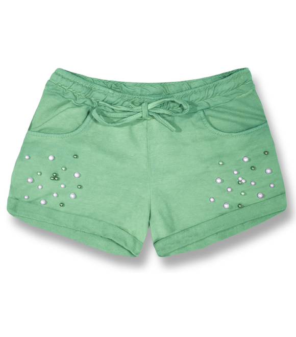 Damen Shorts 8136 Hellgrün