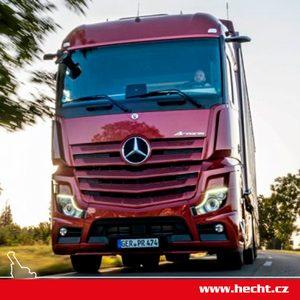 SOUTĚŽ: Staňte se řidičem tahače Mercedes-Benz Actros