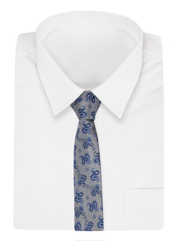 Cravata cu model GRI