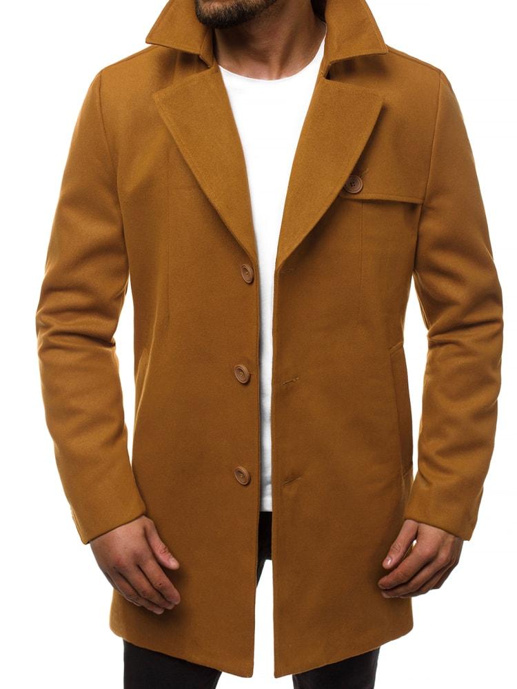 Palton modern CARAMEL N/5922Z