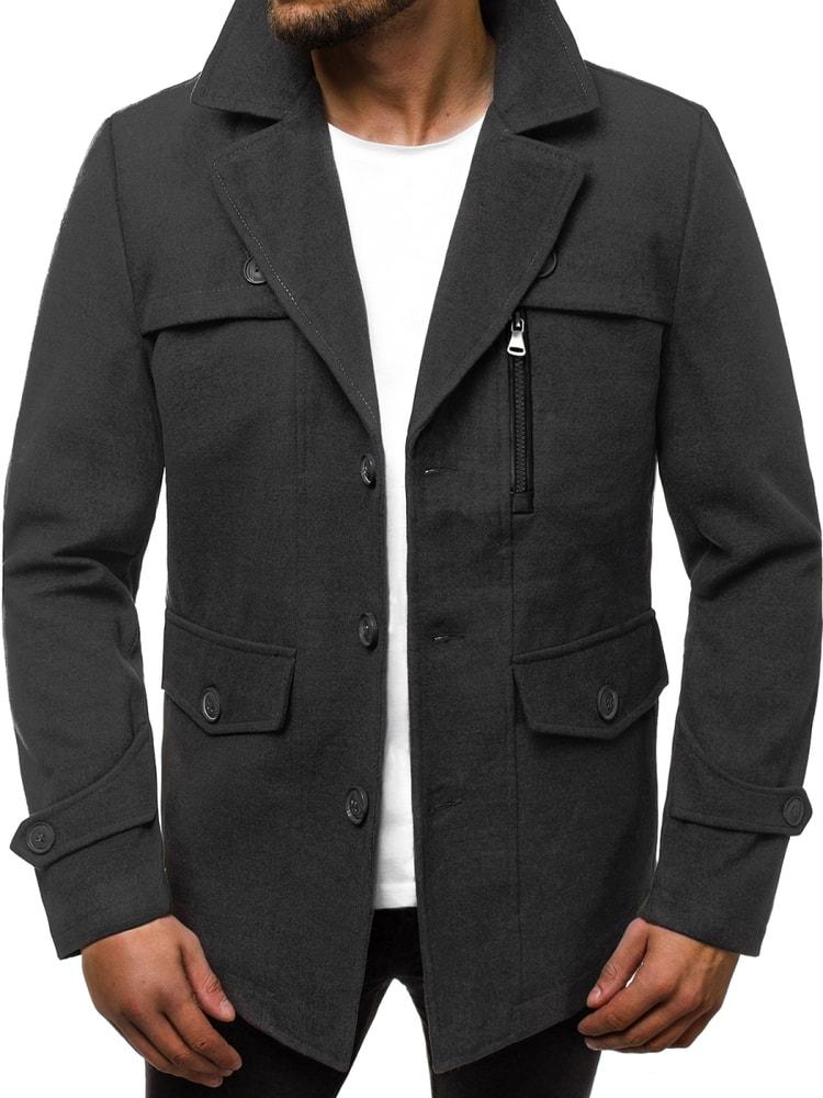Palton trendy GRI inchis N/5920Z