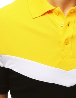 Tricou polo barbatesc multicolor