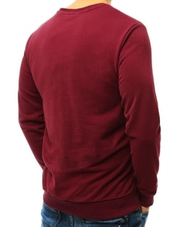 Bluza unica barbateasca bordo