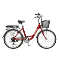 HECHT PRIME RED - city e-bike