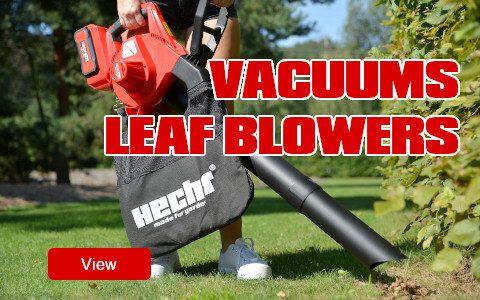 Leaf blowers, vacuums