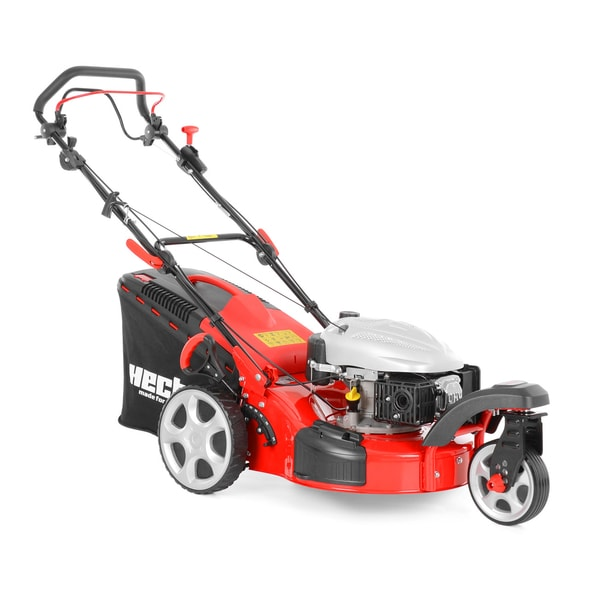 HECHT 5483 SW 5IN1 - PETROL LAWN MOWER WITH SELF PROPELLED SYSTEM