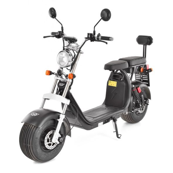 HECHT COCIS - BLACK  E-SCOOTER
