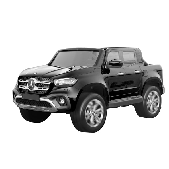 MERCEDES BENZ XMX606 BLACK - ACCU CAR FOR KIDS - 4X4