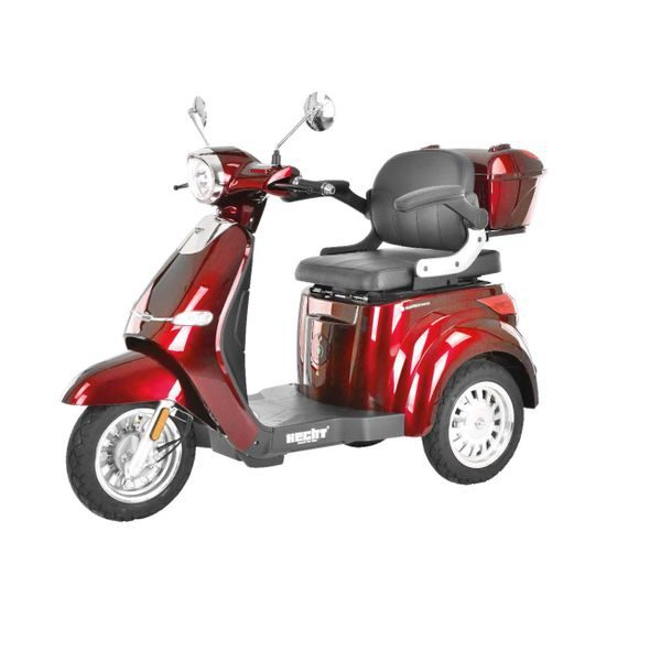 HECHT CITIS MAX RED - ELECTRIC MOBILITY SCOOTER