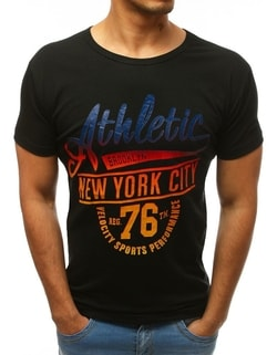 Črna majica ATHLETIC New York