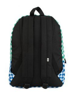 Barvasti nahrbtnik VANS WM REALM BACKPACK CHECKER BLOCK