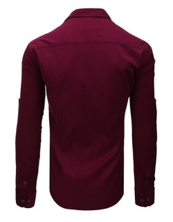 Originalna bordo SLIM FIT srajca