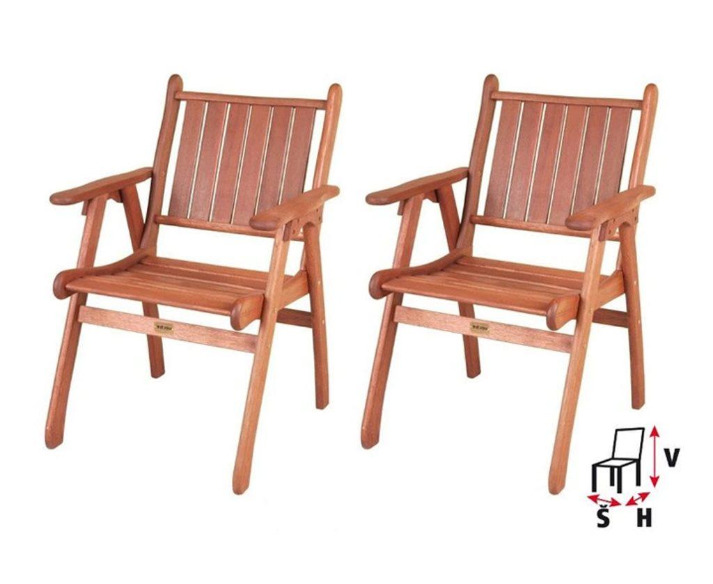 HECHT SPC-225 - záhradná stolička 2 ks