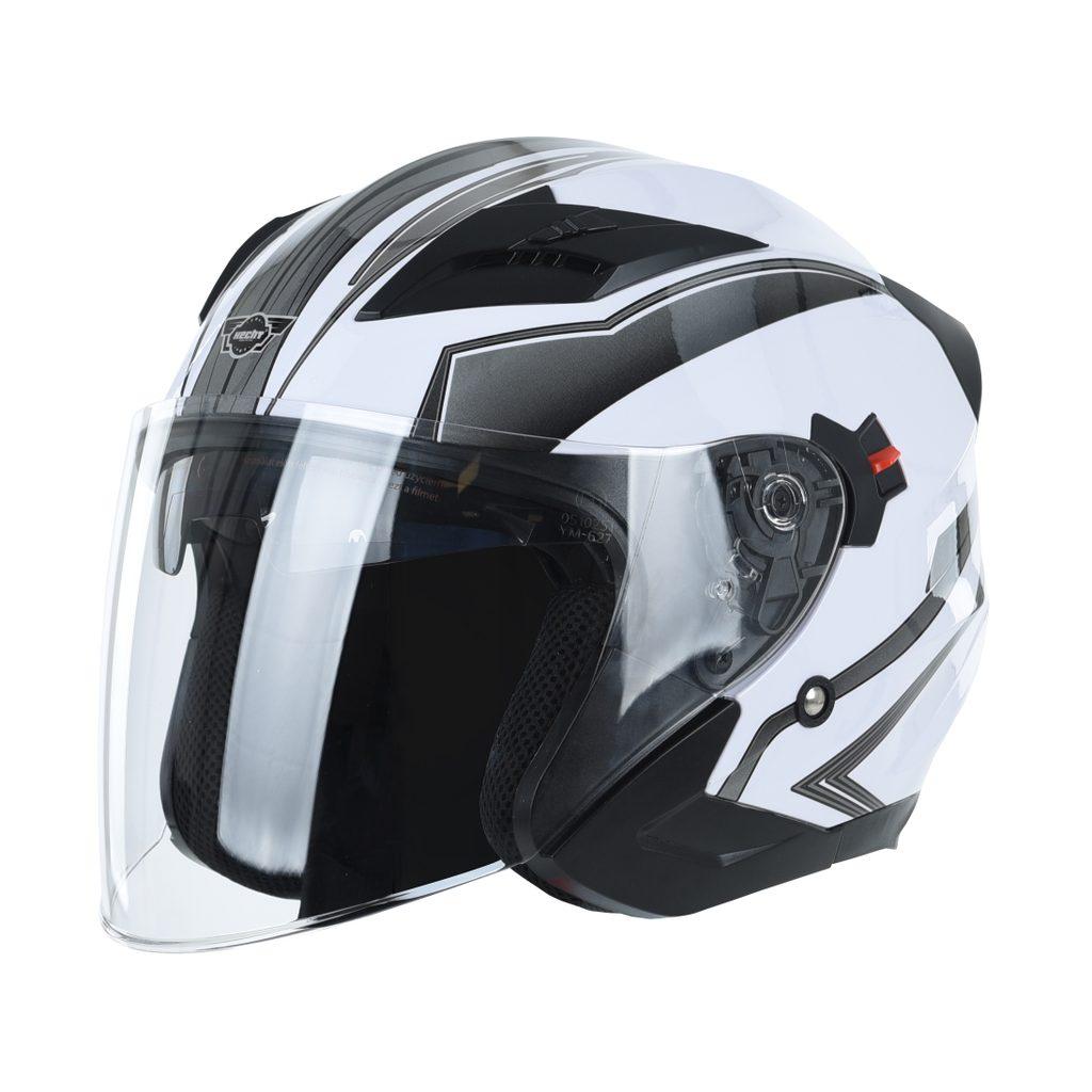HECHT 51627 L - prilba pre skúter a motocykel