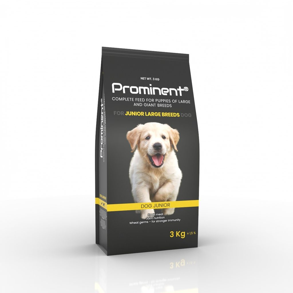 Prominent DOG JUNIOR LARGE BREED 3 kg