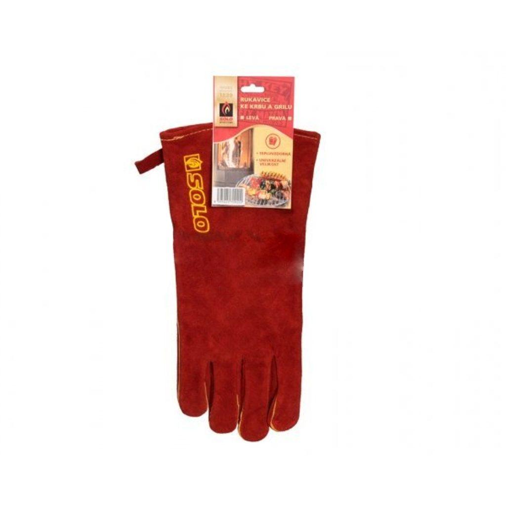 SOLO rukavice ku krbu a grilu