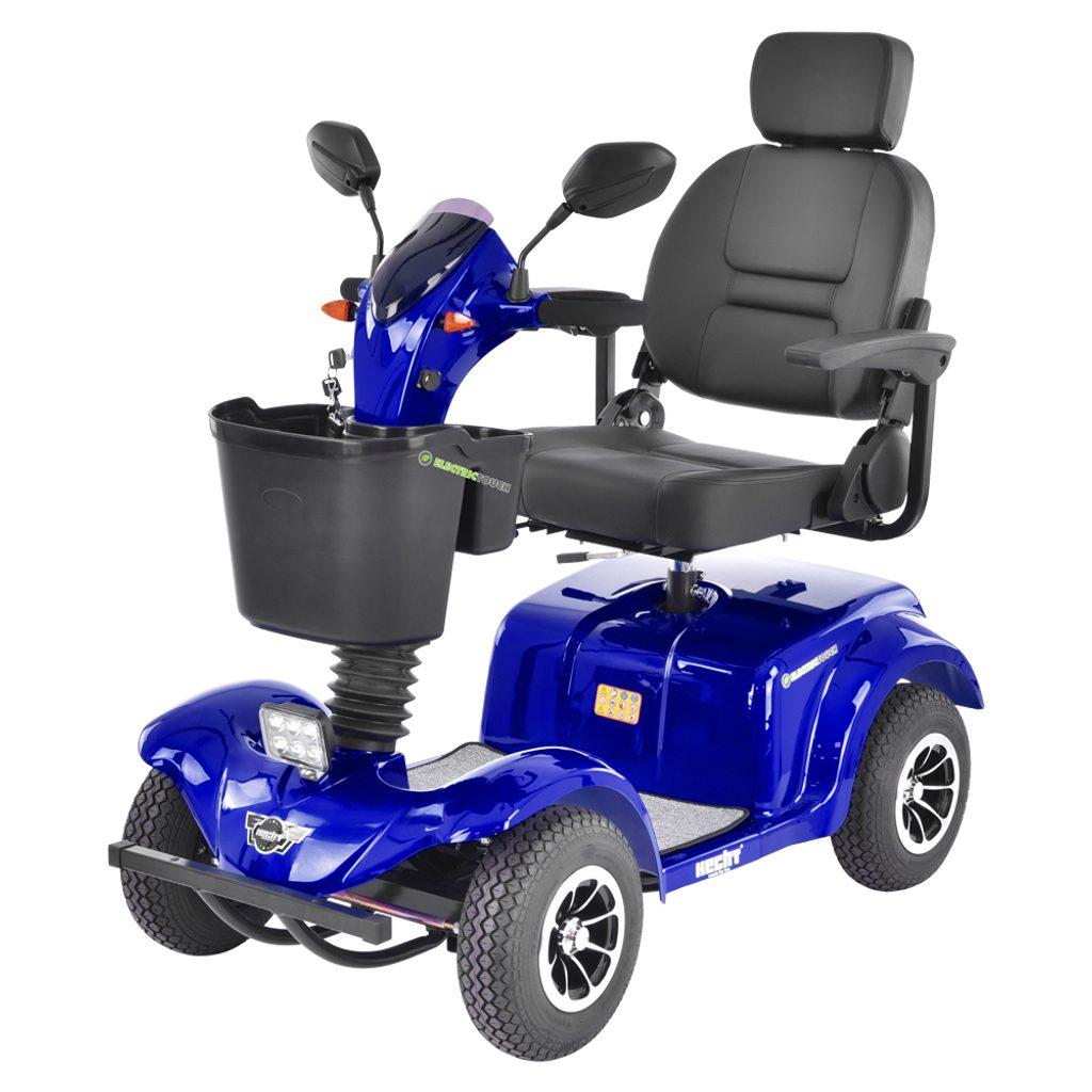 Elektrický vozík - HECHT WISE BLUE