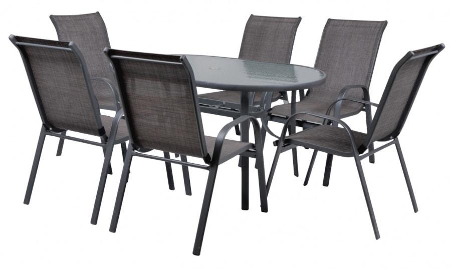 EKONOMY SET 6 - Set záhradného nábytku
