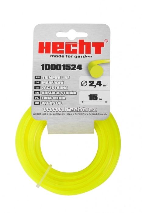 HECHT 10001524 - struna guľatá 2,4 mm x 15 m