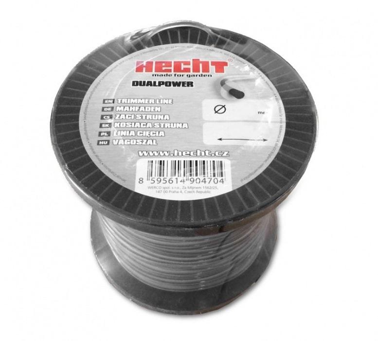 HECHT 10434524 - struna štvorcová 2,4 mm x 345 m