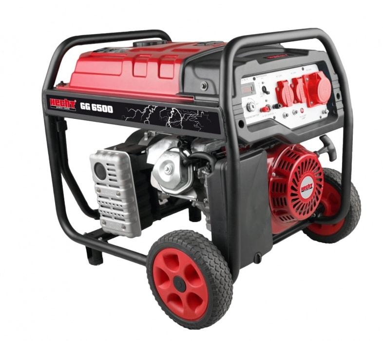 HECHT GG 6500 - jednofázový generátor elektriny