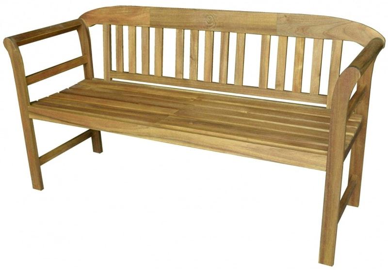 HECHT ROSE - záhradná lavička