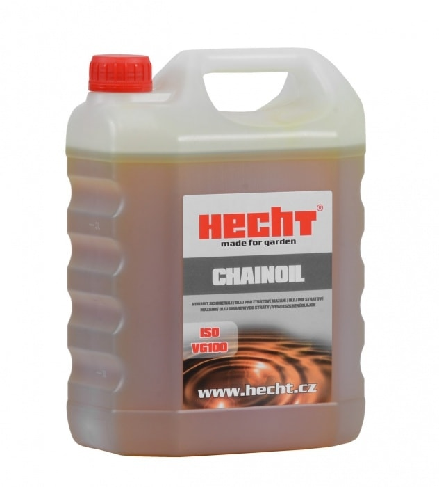 HECHT CHAINOIL 4L - špeciálny olej pre mazanie líšt 4l