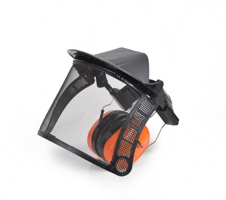 HECHT 900105 - ochrana očí - predný štít so slúchadlami CE