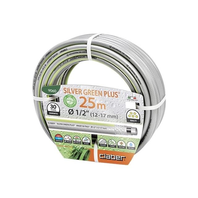 """Claber 9060 - záhradná hadica Silver green 1/2"""" - 25m"""