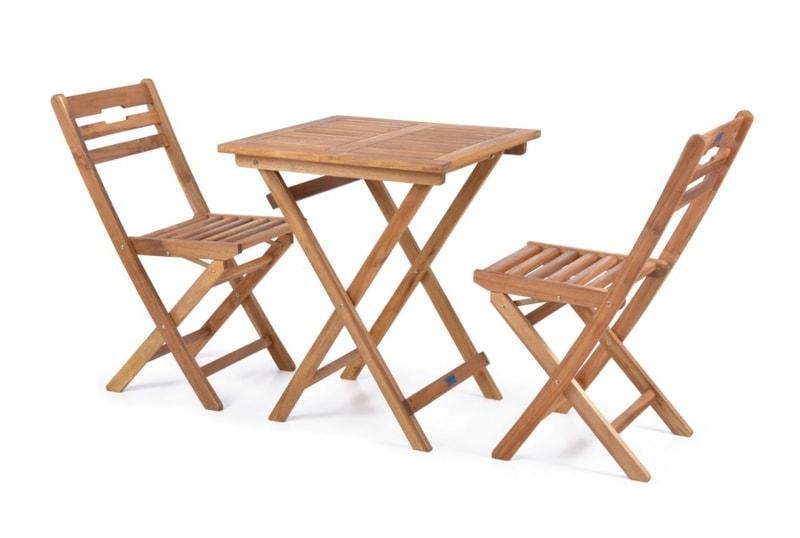 HECHT BALCONY SET A - Set záhradného nábytku