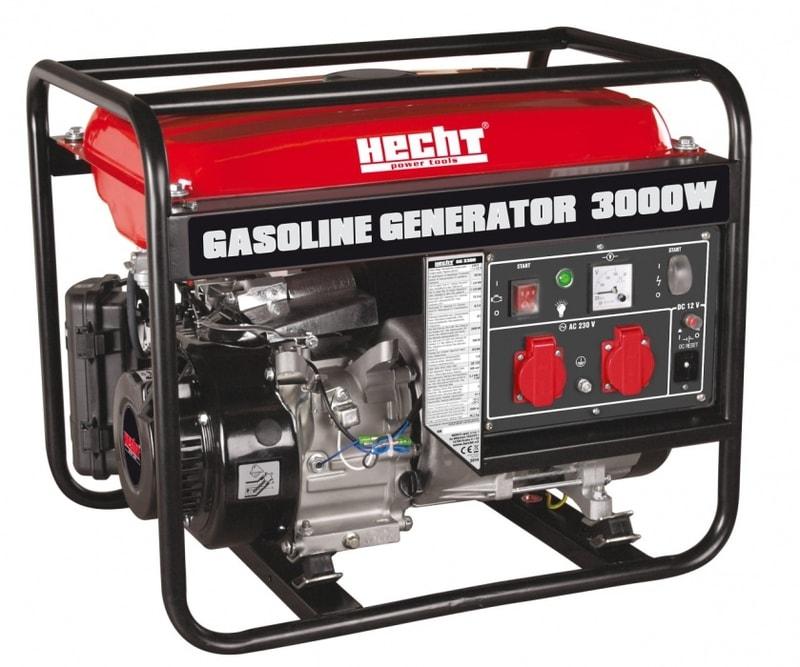 HECHT GG 3300 - jednofázový generátor elektriny