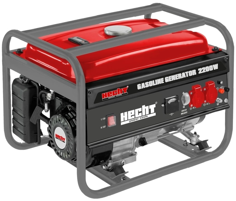 HECHT GG 2500 - jednofázový generátor elektriny
