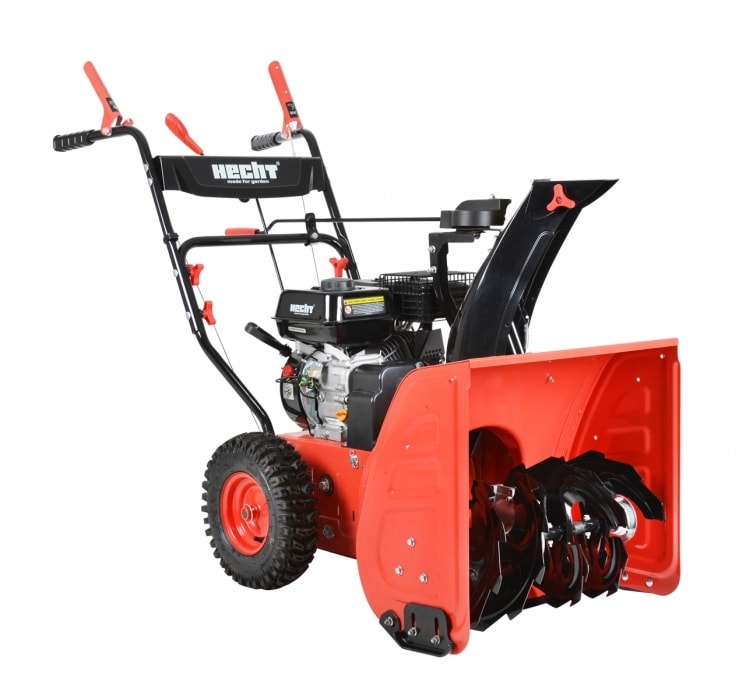 HECHT 9556 - benzínová snežná fréza