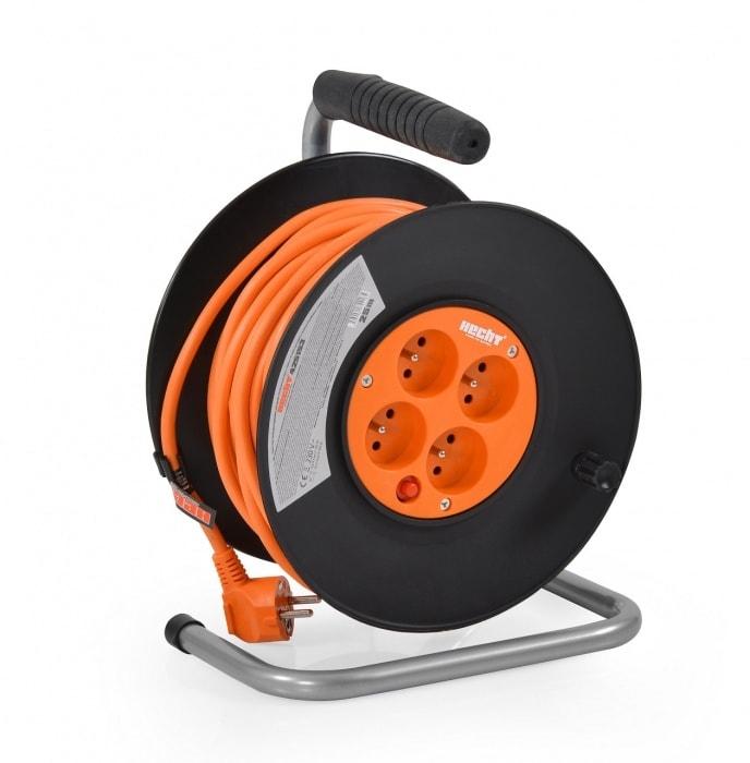HECHT 425153 - predlžovací kábel na cievke 25 m