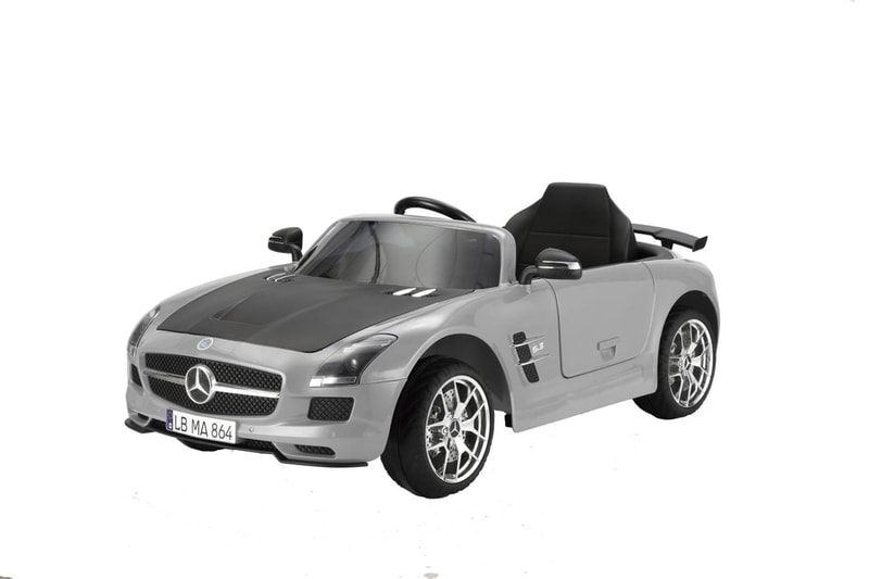 MERCEDES BENZ SLS-AMG GREY