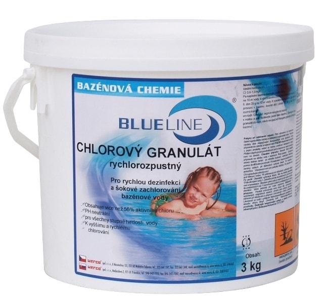 501603 - rýchlorozpustný chlórový granulát