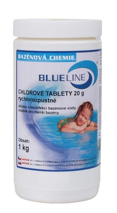 504601 - rýchlorozpustné chlórové tablety