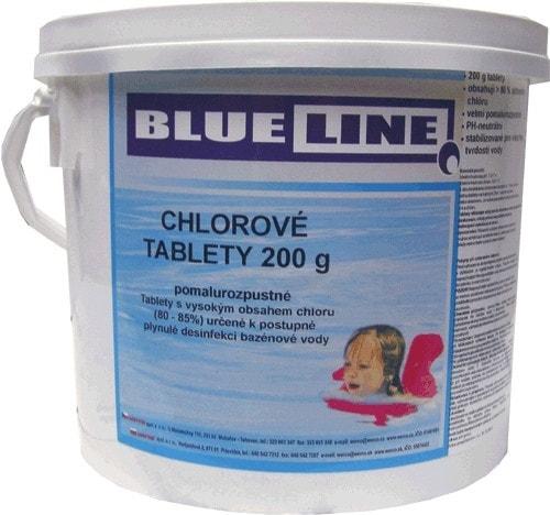 505603 - pomalyrozpustné chlórové tablety