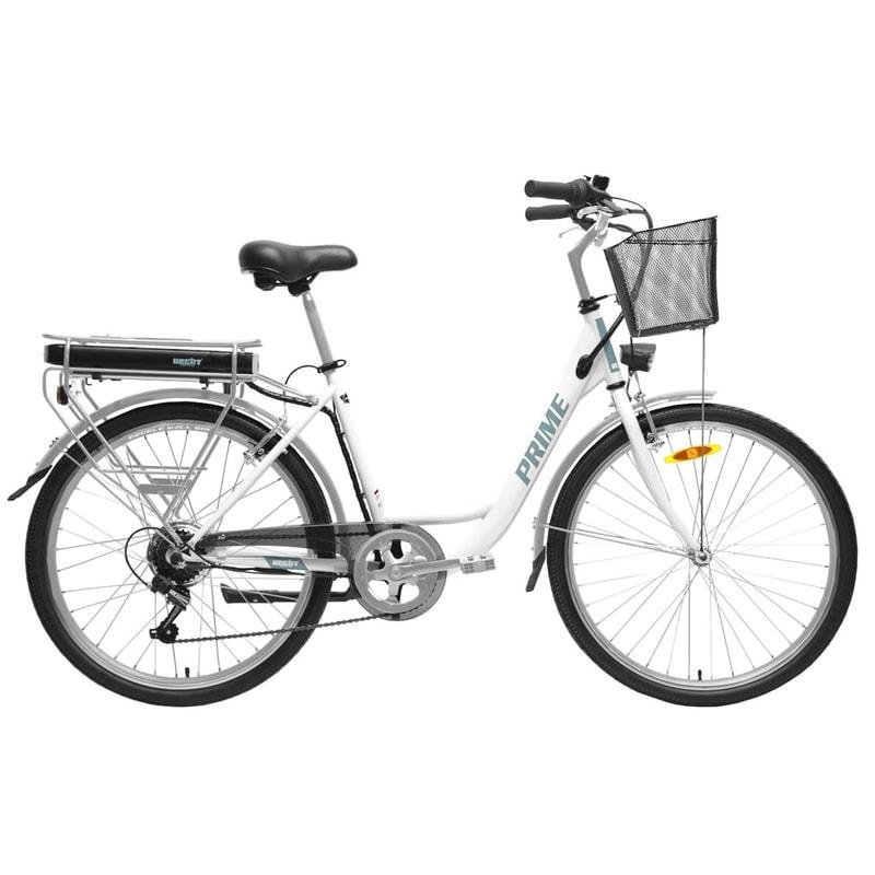 HECHT PRIME WHITE - elektrobicykel