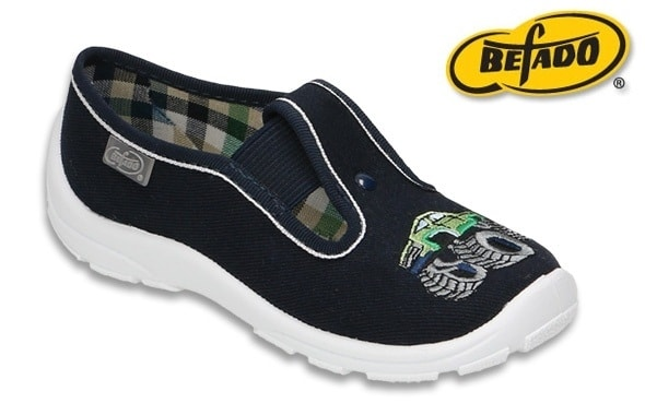 5b72226d63 Chlapčenska domáca obuv Befado 975X169 modré auto - BEFADO - Domáca obuv - Domáca  obuv - papučky