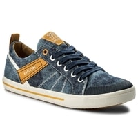 Tenisky GEOX JR KILWI BOY BLUE/YELLOW