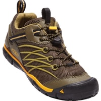 KEEN CHANDLER CNX JR, dark olive/citrus