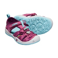 Sandály KEEN MOXIE SANDAL J, red violet/pastel turquoise