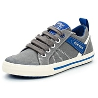 Tenisky GEOX JR KILWI BOY GREY/ROYAL